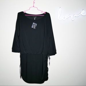 White House black market long sleeve dress